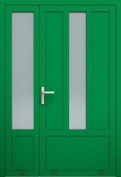aw001 2 ral6029 - Drzwi aluminiowe - Wiśniowski