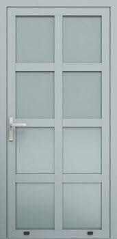 aw002 ral7040 - Drzwi aluminiowe - Wiśniowski