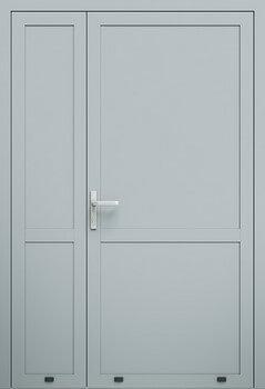 aw007 2p ral7040 - Drzwi aluminiowe - Wiśniowski