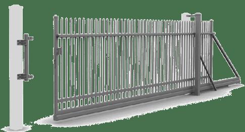 bramy przesuwne reczne wisniowski - Bramy przesuwne