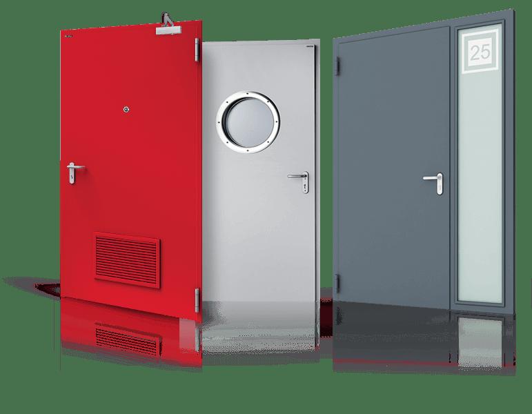 drzwi plaszczowe ECO wisniowski 1 - Drzwi stalowe płaszczowe - Wiśniowski