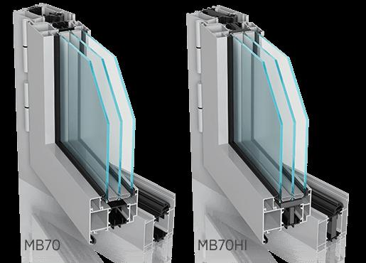 mb70 70hi 1 - Okna aluminiowe FUTURO - Wiśniowski