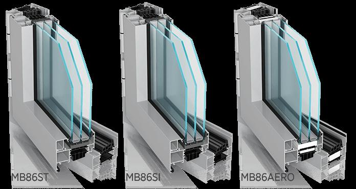 mb86 st si areo 1 - Okna aluminiowe FUTURO - Wiśniowski