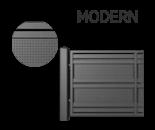modern 1 - Segmenty i słupy ogrodzeniowe