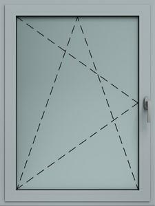 okno alu rozwierno uchylne wisniowski - Okna aluminiowe FUTURO - Wiśniowski