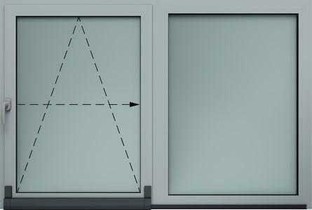 okno alu uchylno przesuwane wisniowski - Okna aluminiowe FUTURO - Wiśniowski