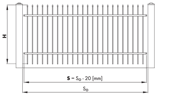 warunki zabudowy 1 - Segmenty i słupy ogrodzeniowe