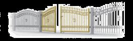 zastosowanie bramy skrzydlowe i furtki - Kolekcja Basic