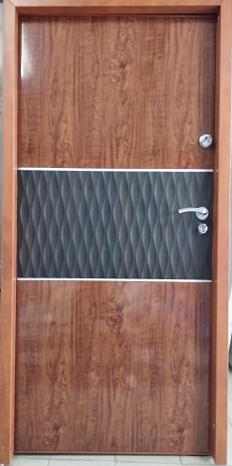 Drzwi wejściowe do mieszkania: Gerda SX10 Premium (Drzwi Prawe)