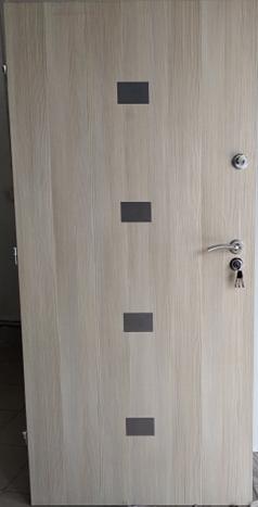 1 19 - Drzwi wejściowe do mieszkania: Gerda S Premium (Drzwi Lewe)