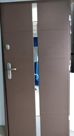 1 2 - Drzwi wejściowe do domu: Gerda WX20 (Drzwi Prawe)