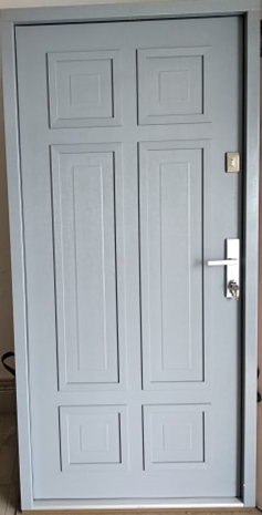 1 22 - Drzwi wejściowe do domu: Gerda NTT REVO 75 (Drzwi Prawe)