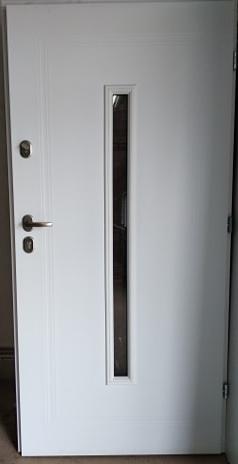 1 24 - Drzwi wejściowe uniwersalne: Gerda Q-Domino (Drzwi Prawe)