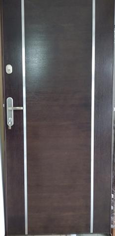 1 6 - Drzwi wejściowe do mieszkania: Gerda WX10 - standard (lewe)