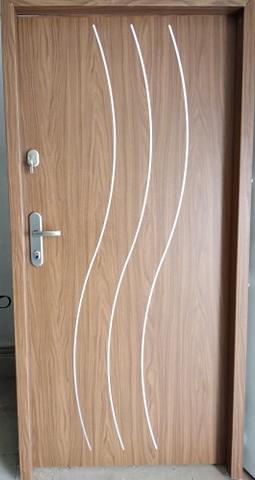2 15 - Drzwi wejściowe do mieszkania: Gerda WX10 standard (Drzwi Lewe)