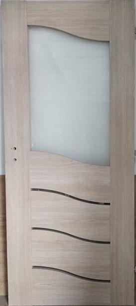 """2 30 - Drzwi wewnętrzne (Prawe) 80"""" dąb vintage"""