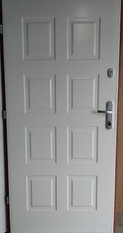 2 4 - Drzwi wejściowe do domu: Gerda WX20 (Drzwi Prawe)
