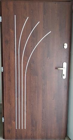 3 15 - Drzwi wejściowe do mieszkania: Gerda WX10 standard (Drzwi Lewe)