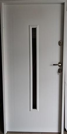 3 16 - Drzwi wejściowe uniwersalne: Gerda Q-Domino (Drzwi Prawe)