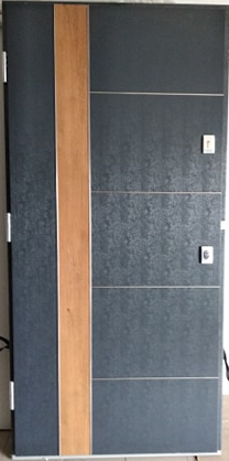 3 17 - Drzwi wejściowe do domu: Gerda NTT REVO 75 (Drzwi Lewe)