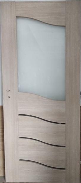 """3 28 - Drzwi wewnętrzne (Prawe) 80"""" dąb vintage"""
