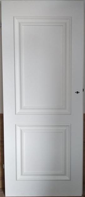 """3 31 - Drzwi wewnętrzne (Prawe) 80"""" biały"""