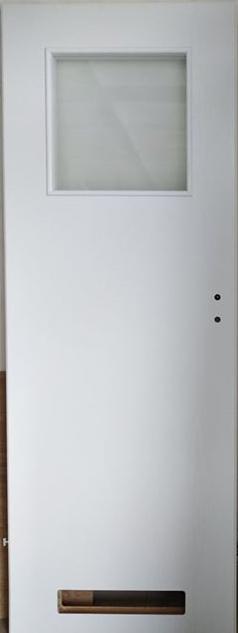 """3 34 - Drzwi wewnętrzne (Lewe) 70"""" biały"""