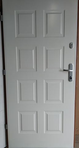 3 5 - Drzwi wejściowe do domu: Gerda WX20 (Drzwi Prawe)