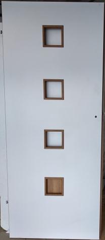 Drzwi wewnętrzne białe