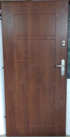 3 - Drzwi wejściowe do mieszkania: Gerda CX10 - standard (Drzwi Lewe)