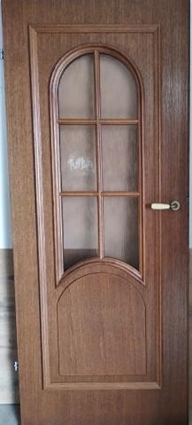 """4 26 - Drzwi wewnętrzne (Prawe) 80"""" orzech"""