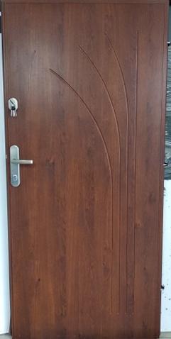 Drzwi wejściowe do mieszkania: Gerda CX10 - standard (Drzwi Lewe)