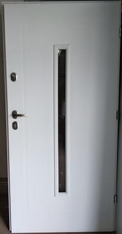 Drzwi wejściowe uniwersalne: Gerda Q-Domino (Drzwi Prawe)