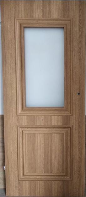 """55555 - Drzwi wewnętrzne (Lewe) 80"""" orzech karmelowy"""