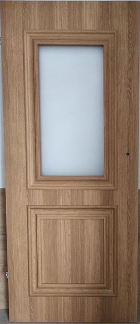 """6 10 - Drzwi wewnętrzne (Lewe) 80"""" orzech karmelowy"""