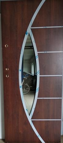 6 4 - Drzwi wejściowe do domu: Gerda TT OPTIMA 60 (Drzwi Prawe)