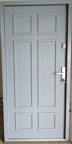 6 6 - Drzwi wejściowe do domu: Gerda NTT REVO 75 (Drzwi Prawe)