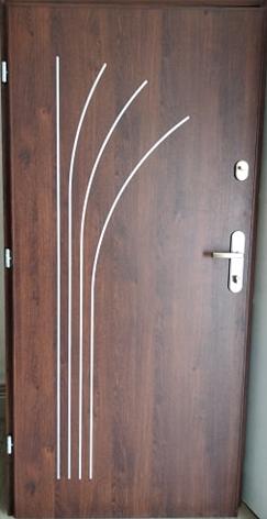 6 7 - Drzwi wejściowe do mieszkania: Gerda WX10 standard (Drzwi Lewe)