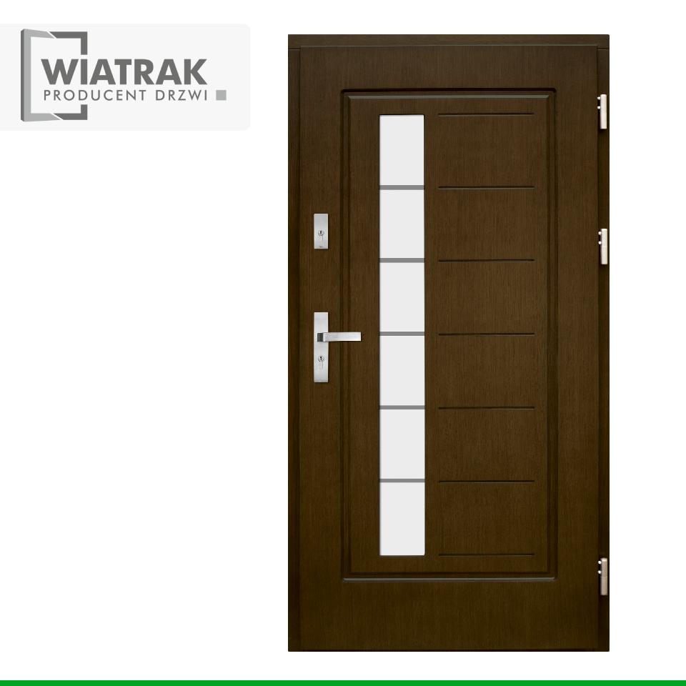 DF3 - Drzwi Płytowe - Wiatrak