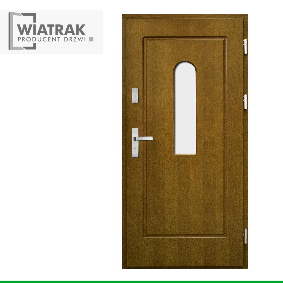 DF5 - Drzwi Płytowe - Wiatrak