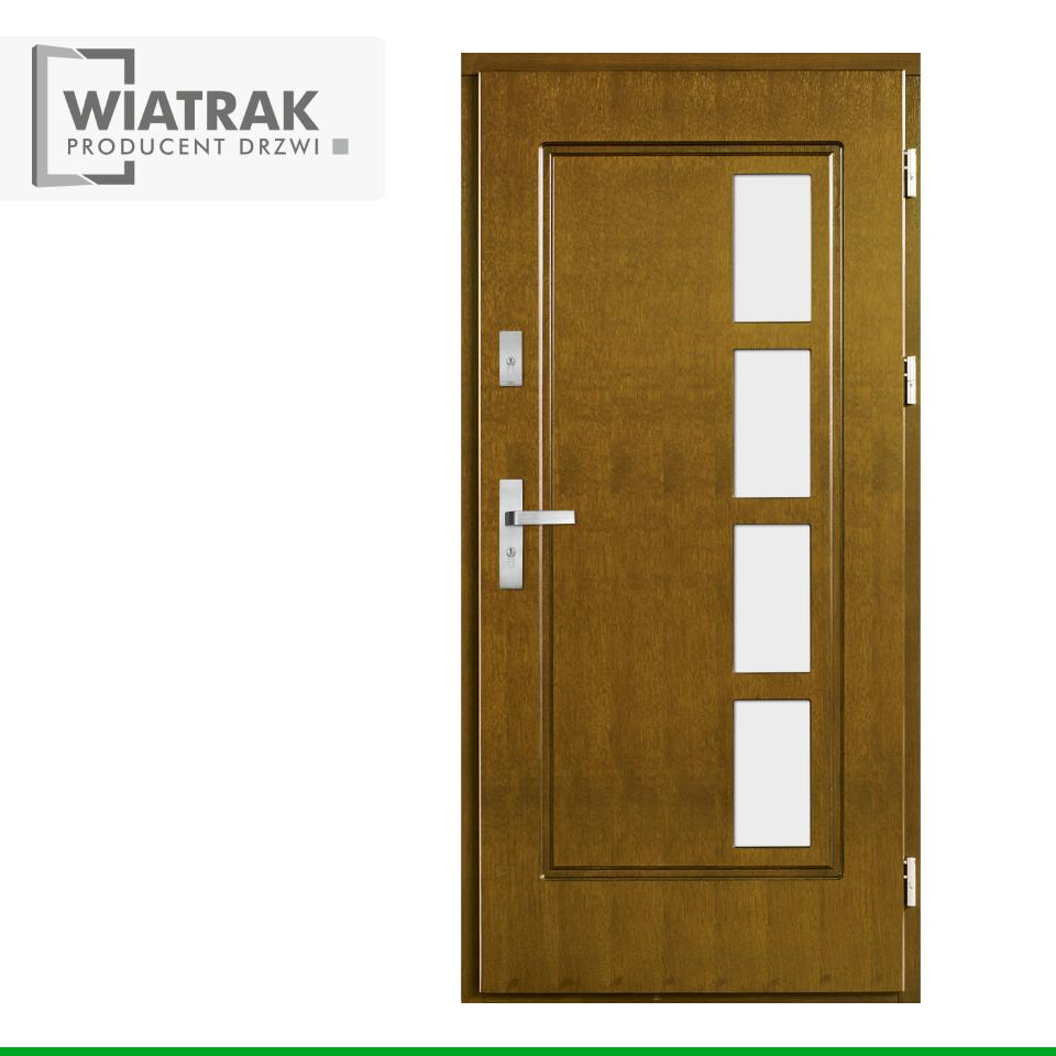 DF6 - Drzwi Płytowe - Wiatrak