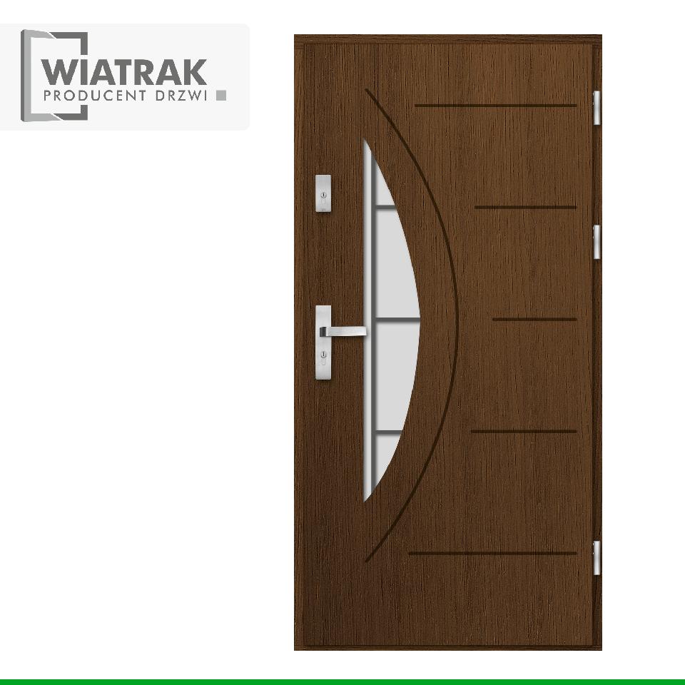 DP1 - Drzwi Płytowe - Wiatrak