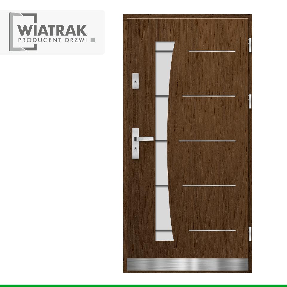 DP10 - Drzwi Płytowe - Wiatrak