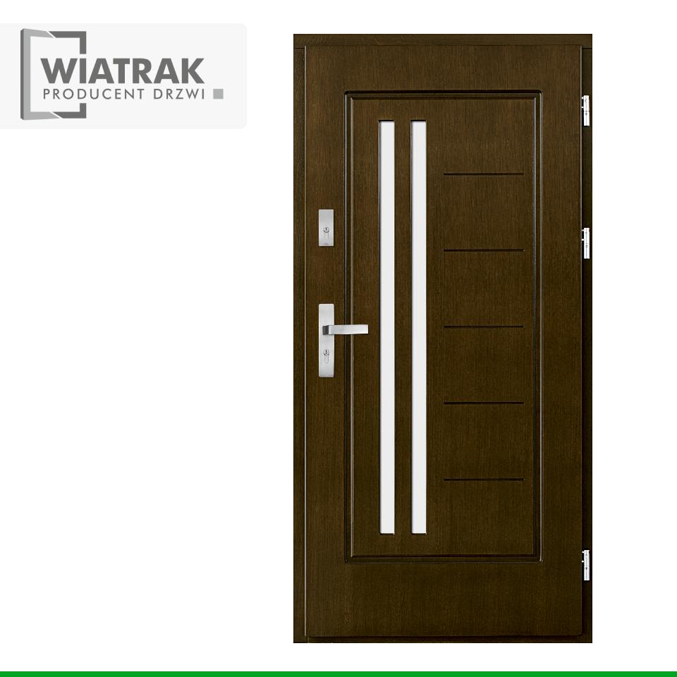 DP11 1 - Drzwi Płytowe - Wiatrak