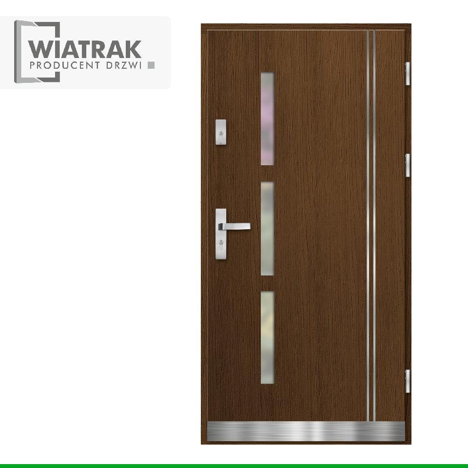 DP13 - Drzwi Płytowe - Wiatrak