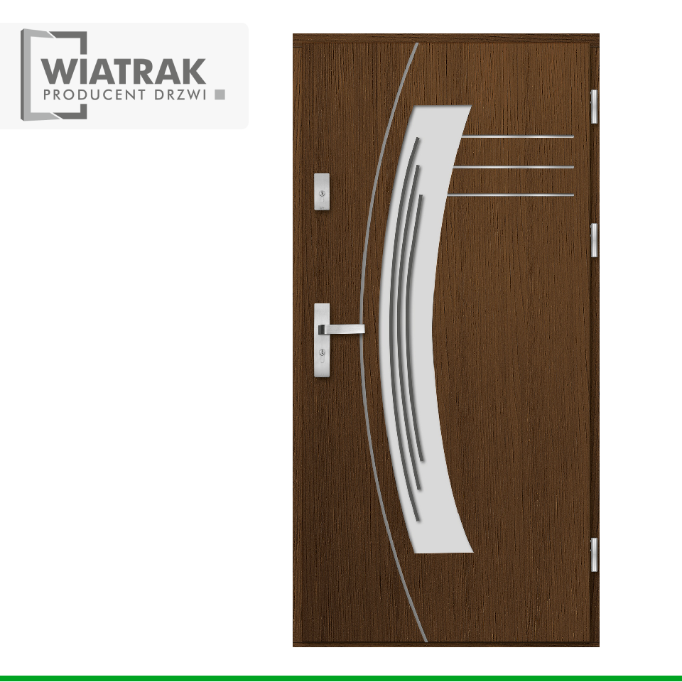 DP14 - Drzwi Płytowe - Wiatrak