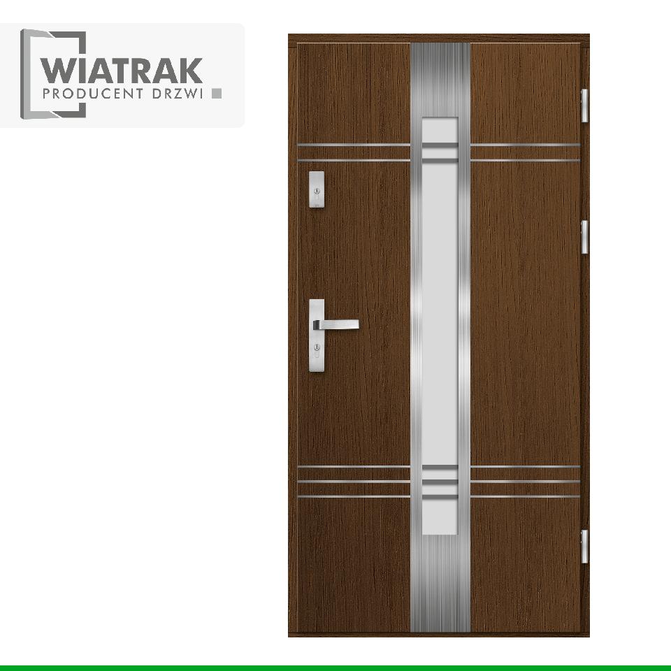 DP15 - Drzwi Płytowe - Wiatrak