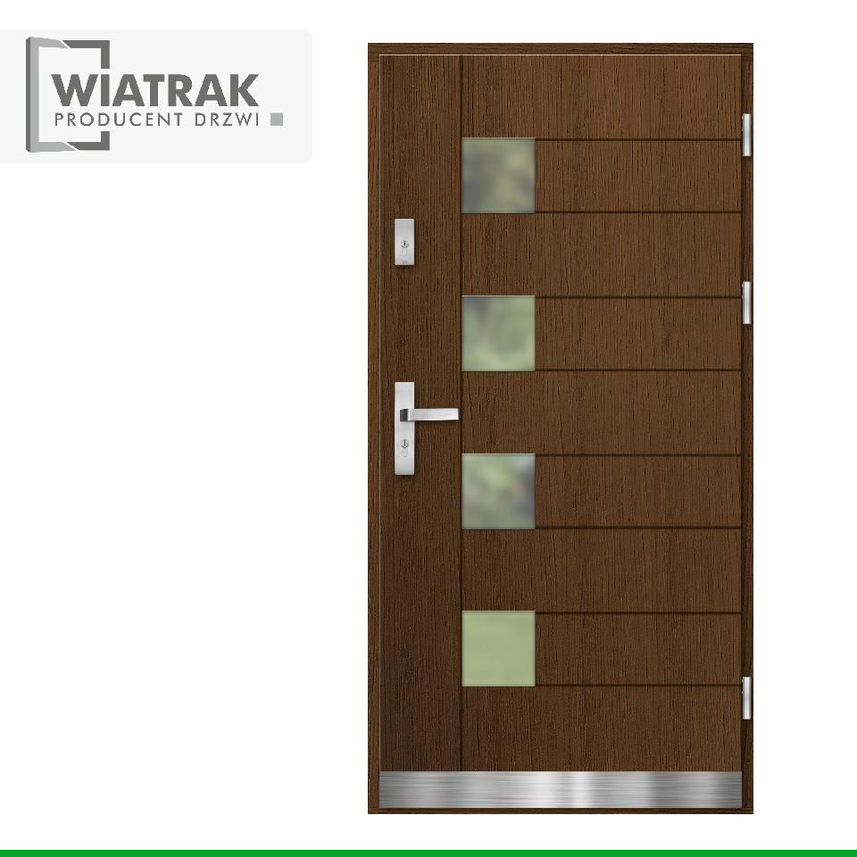 DP19 - Drzwi Płytowe - Wiatrak