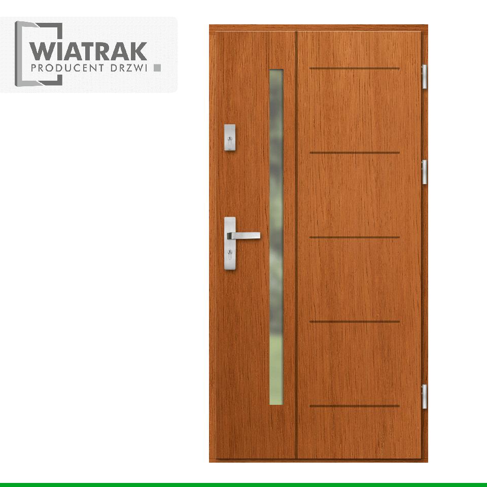 DP2 - Drzwi Płytowe - Wiatrak