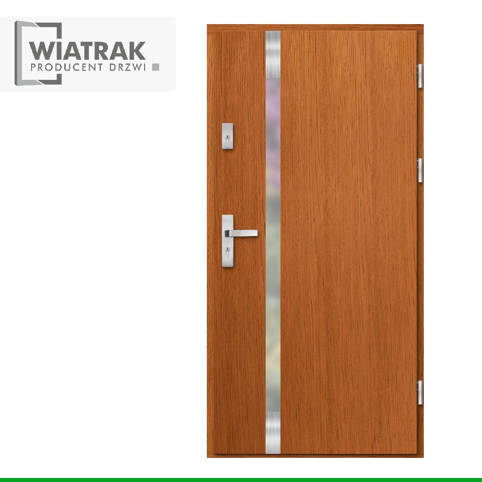 DP20 - Drzwi Płytowe - Wiatrak
